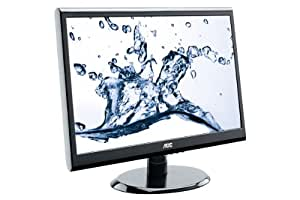 AOC E2250SWDAK 21.5 inch Widescreen Multimedia LED Monitor (1920x1080, 5ms, VGA, DVI, 1000:1, i-Menu, e-Saver)
