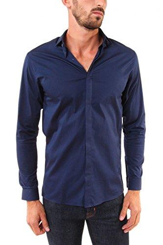 Billtornade -  Camicia classiche  - Uomo navy 0