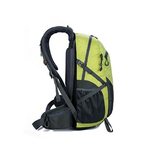 Z&N 40-50L GroßE KapazitäT Hochwertige Nylon Outdoor Sporttasche Bergsteigen Rucksack Studenten Tasche Mehrzweck Reiten Urlaub Camping GepäCk TäGlicher Gebrauch C