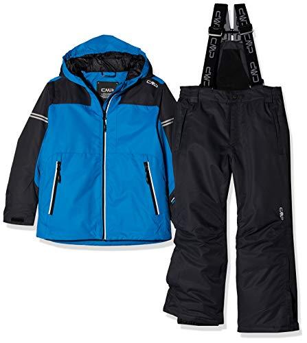 CMP Feel Warm Flat 5.000 39W1864, Set Giacca e Pantaloni Bambino, River, 164