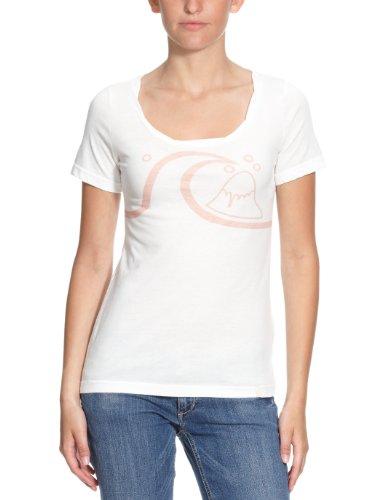 Quiksilver Mountain T-Shirt pour femme Blanc - White Water