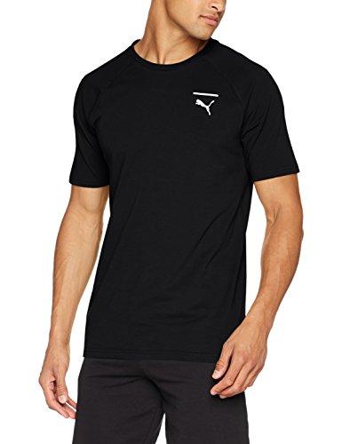 Puma Herren Evo Core T-Shirt, Weiß Puma Black