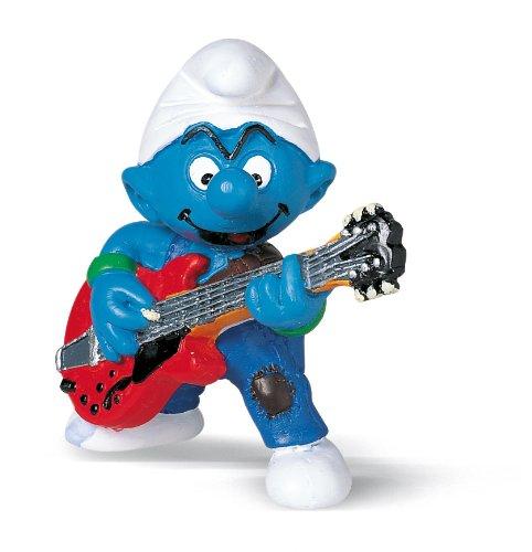 Schleich - Figura pitufo Guitarrista (20449) 2