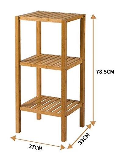 4 tier il ripiano di un rack di ammettere e bagni, cucina spazio usando lo strato 3 3047 3048,