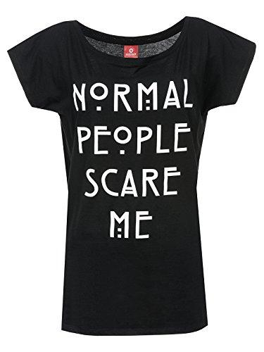 American Horror Story Normal People T-shirt Femme noir XXL