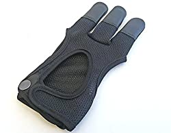 Quality Mesh Archery Shooting Gloves. Archery Gloves. (Medium)