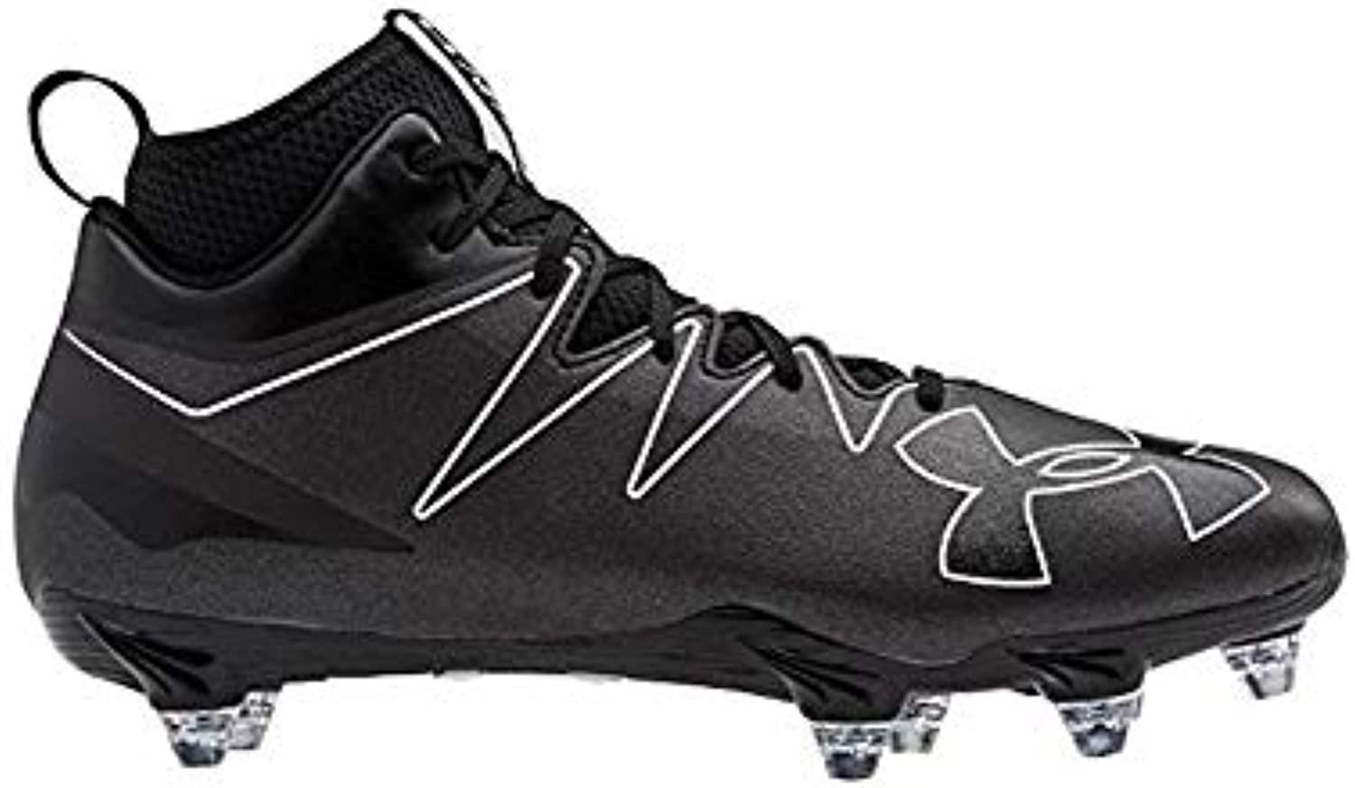 Adidas Freak High High High Wide (2E) Cleat Mens Football 12 nero-nero-nero | Elegante e divertente