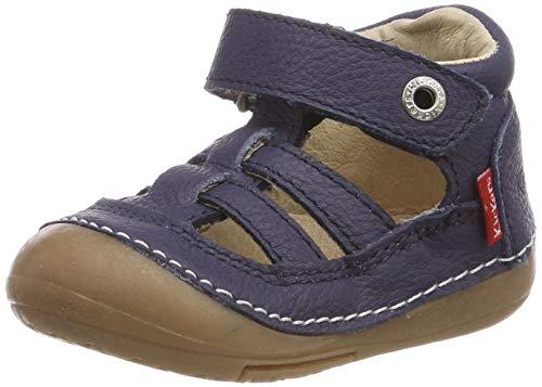 Kickers Unisex Baby Sushi Sandalen Blau (Marine 10), 24 EU
