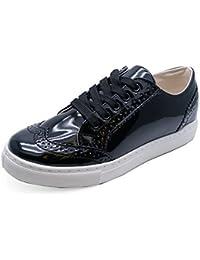 Markenlos Damen Trekking Schuh ral in 2 Designs, Farbe:Braun;Größe:37