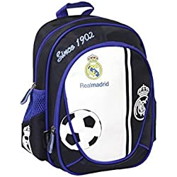 Real Madrid Backpack Kindergarten Real Madrid Supreme 30 CM by Real Madrid F.C.