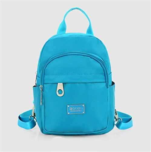 Wmshpeds Casual borsa a tracolla femmina in nylon impermeabile ultra-light anti-zaino di strappo F
