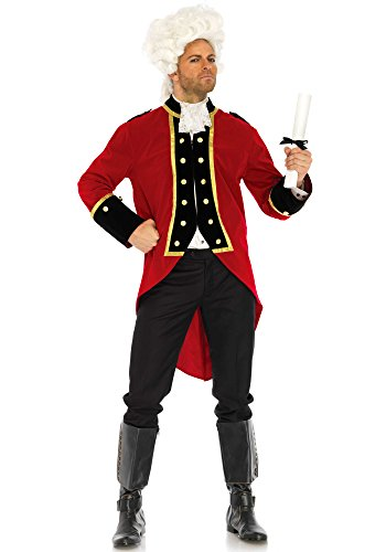 Leg Avenue LO85652 Red Coat Kostüm, Rot, X-Large (EUR 42) (Militär Leg Kostüm Avenue)