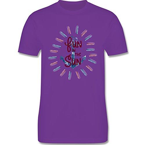 Statement Shirts - Fun in the sun - Herren Premium T-Shirt Lila