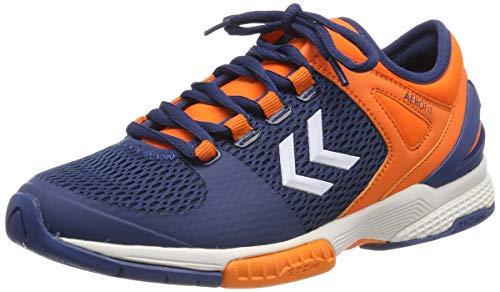hummel Unisex-Erwachsene AEROCHARGE HB 200 2.0 Multisport Indoor Schuhe, Blau (Poseidon 8616), 45 EU