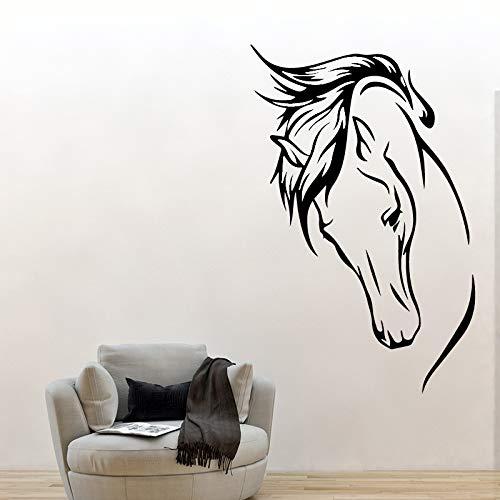 erdekopf Wandaufkleber Pvc Wandkunst Tapeten Für Kinderzimmer Hintergrund Wandkunst Aufkleber schwarz 43 cm X 66 cm ()