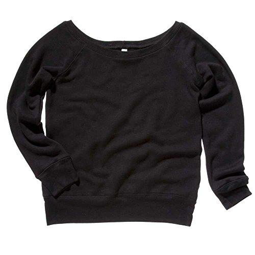 Bella Canvas - Sweat-shirt -  Femme noir - Solid Black