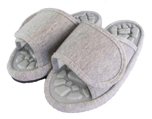 JO de Funami pantoufles de sant? de bonne taille roche gris L (~ 26 28cm) 2070 (japon importation)