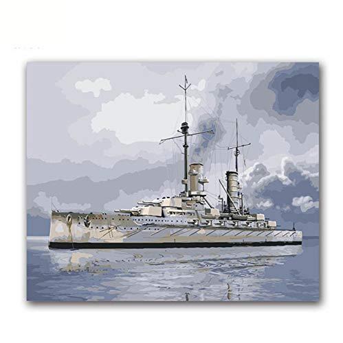 Teile 3D Puzzle Kämpfer DIY Bild Kriegsschiff U-Boot Panzer Mit Kits ()