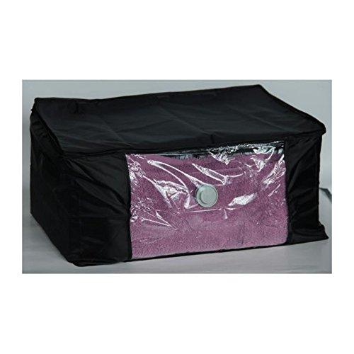 Mondex EVE762-01 Air Off Pack de Rangement Sous Vide Compactable Modèle M Plastique Noir 46 x 20 x 4 cm