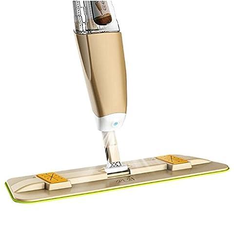 Cuzit Balai vaporisateur kit Spin d'eau sur le sol