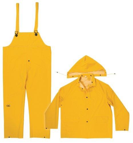 CLC Regen tragen Ring mm 3er Regen Anzug Gelb-3X Groß von Custom Lederwaren (Anzüge Tragen Ring)