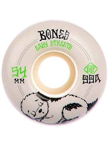 Bones Wheels Skateboard Wheels STF Rest Easy 99A Fatties 54mm Rollen (Bones Stf 54mm)