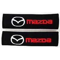 Almohadillas de estilo deportivo para cinturón de seguridad. Flair Wagon Flair Crossover Mazda2 Demio Mazda3 Mazda6 Atenza Mx-5 Roadster Cx-3 Cx-4 Cx-5 Cx-8 Cx-9 Bongo BT-50 Titan Eonos