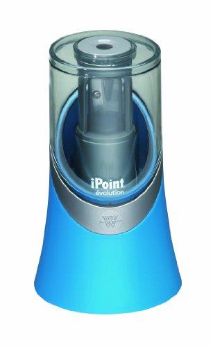 Westcott E-55033 00 iPoint évolution elektronischer Anspitzer, Blau, und weitere Ausführungen