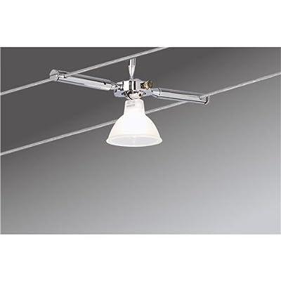Paulmann Leuchten Wire System Togo 150, 4 x 35 W GU5.3, 230 / 12 V, 150 VA Metall, chrom 97469 von Paulmann Leuchten bei Lampenhans.de