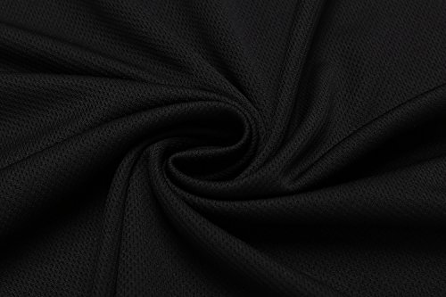 Coofandy Men's Solid Summer Short Sleeve Tops Turn Down Collar Polo Shirt