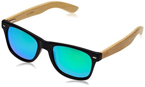 ocean-sunglasses-beach-lunettes-de-soleil-black-frame-wood-natural-arms-revo-green-lens