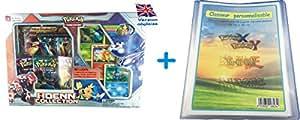 Offre Lagiwa - Carte pokemon - Coffret Méga PRIMAL GROUDON EX neuf en version ANGLAISE avec 1 Classeur A4 personnalisable de capacité 216 cartes