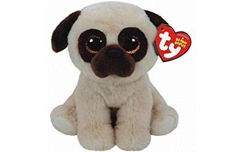 Beanie Boo Dog - Rufus the Pug - 24cm 9""