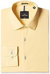 Park Avenue Mens Formal Shirt (8907575551369_PMSY09250-F3_40_Medium Fawn)