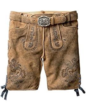 Stockerpoint - Herren Trachten Lederhose in verschiedenen Farben, Aron