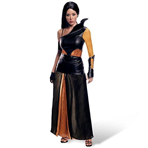 300 Artemisia Film Kostüm 5 tlg Damen Kostüm mit Kleid Gürtel Armschiene Handschuh Armband - S (Kostüme Aus Filmen)