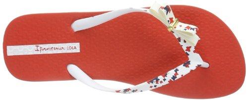 Ipanema Lola 81258 Damen Zehentrenner Rot (red/white 22156)