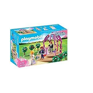 Playmobil City Live Pabellon Nupcial con Novios