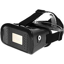 """Arealer VR Gafas de Realidad Virtual Gafas 3D Auricular DIY 3D Juego de la Película de los Vidrios w / Interruptor Magnético Cinta de Cabeza Montado en la Cabeza Samsung para Todos 3.5 ~ 6.0"""" Móvil"""