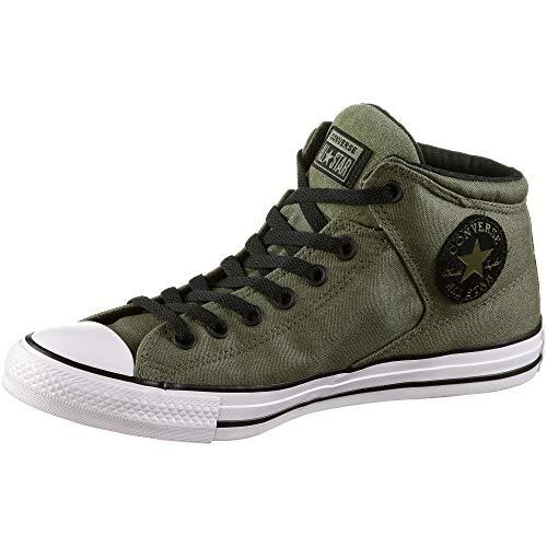 Converse Unisex-Erwachsene Chuck Taylor All Star Hohe Sneaker Grün (Field Surplus/Black/White 000) 42.5 EU