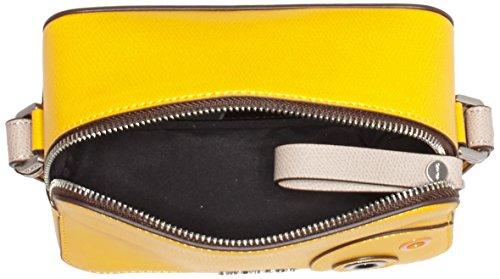 Calvin Klein JULIENN3 Micro Crossbody, Sacchetto Donna, 7x12x18 cm (b x h x t) Oro (Golden Rod)
