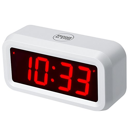 Timegyro despertador LED Reloj despertador digital