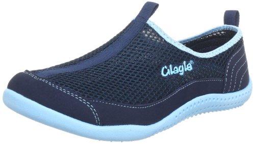 Glagla Typhoon Damen Bootsportschuhe Blau (042 navy/turquoise)