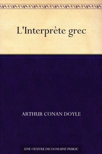 Couverture du livre L'Interprète grec
