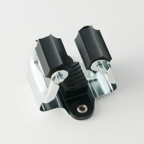 GERÄTEHALTER 5 Stück Klemmfix von 4smile.shop – Made in Germany | Besen-Halter geeignet für...