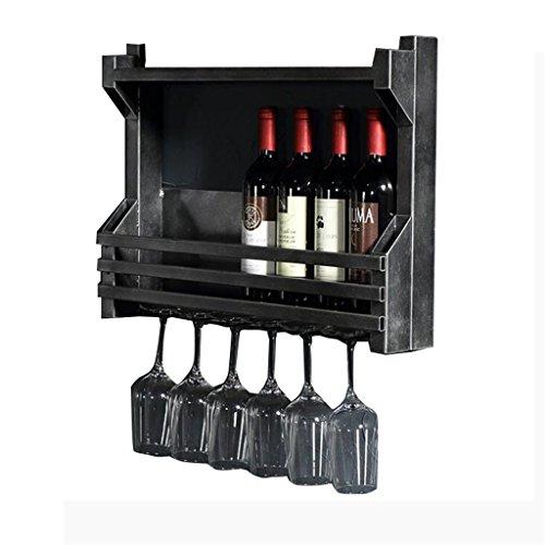 Regal im Wohnzimmer Schlafzimmer Küche European Metal Iron Weinregal Weinstand Weinglashalter...