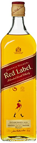 Johnnie Walker Red Label Blended Scotch Whisky (1 x 1 l)