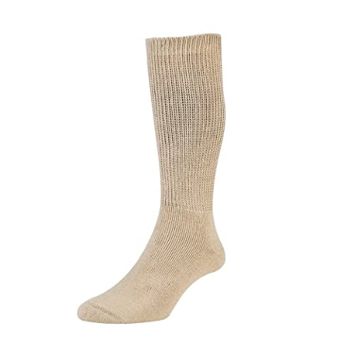Mens Ladies HJ Hall DIABETIC Smooth Easy Fit Cushion Sock