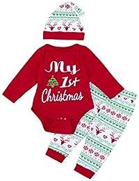Amazon.es: Disfraces Navidad Bebe - Bodies / Ropa de una pieza: Ropa