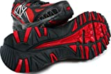 411 V2 D Mens Off Road Trail Running Shoes Red/Black